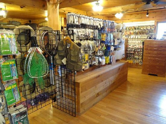 Lilleys' Landing Fly & Tackle Shop: Poles, fly line, fly tying materials