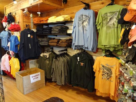 Lilleys' Landing Fly & Tackle Shop: Souvenirs of course!