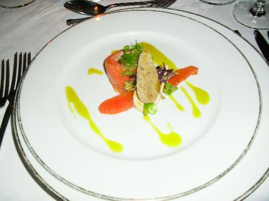 Gantleys Restaurant: salmon