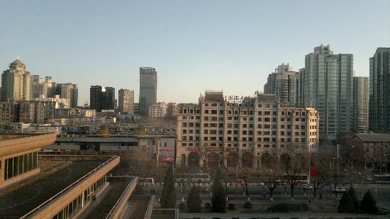 بكين إيشا هوتل: vista dalla camera