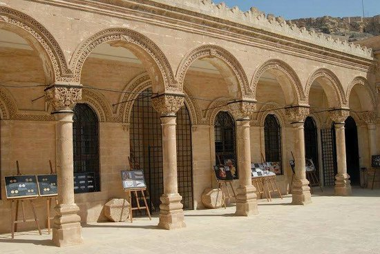 Upper court of Mardin Muesum