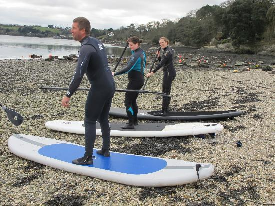 SUP Cornwall - Private Adventures: On land prep