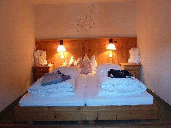 das bett picture of himmlhof st anton am arlberg tripadvisor. Black Bedroom Furniture Sets. Home Design Ideas