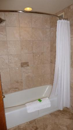 nice tub shower combo. Red Lion Hotel on the River  Nice Tiled Bathtub Shower Combo Picture of