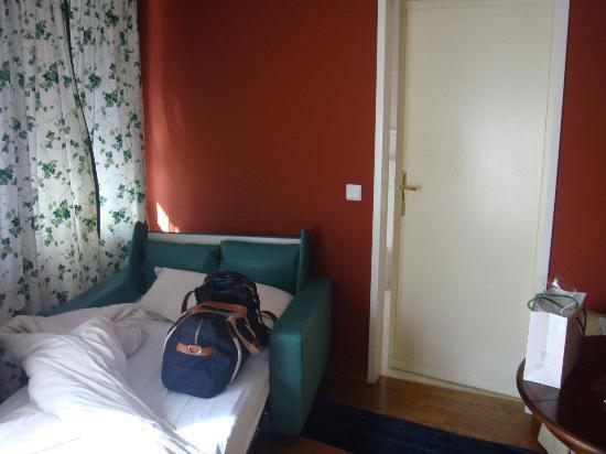 Hotel Hubertus: Wohnzimmer!