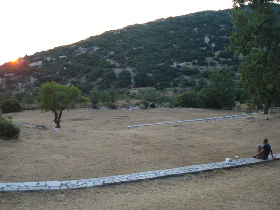 Temple of Apollo Epicurius at Bassae: the last ray of light
