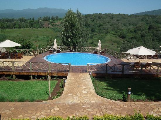Neptune Ngorongoro Luxury Lodge: View from the restaurant