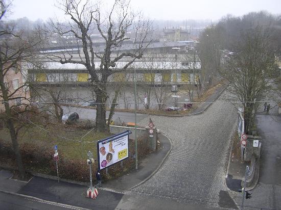 Ibis Augsburg Koenigsplatz : the view from my room