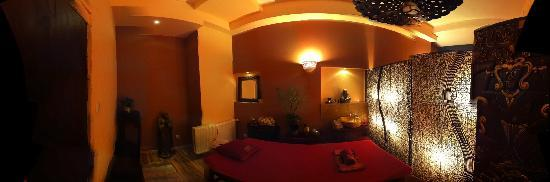 Beauty Balinese Boutique : massage room