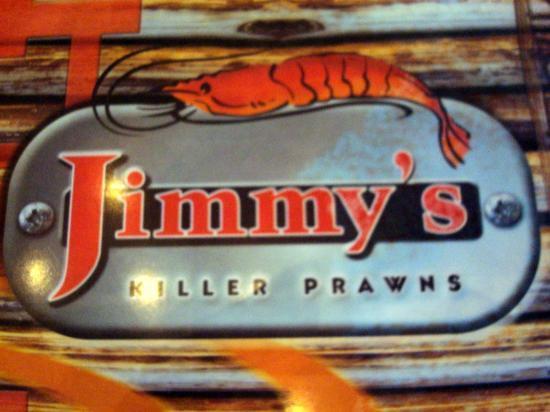 Jimmy's Killer Prawns Table View: Jimmy s