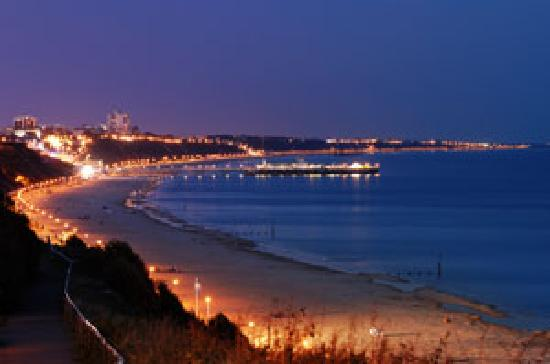 Bournemouth At Night Picture Of Bournemouth Dorset