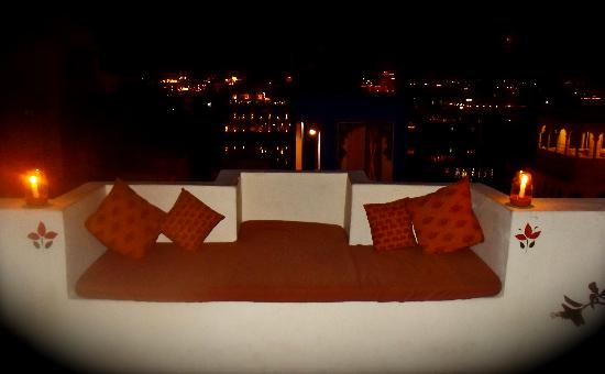 Pratap Bhawan: View from Rooftop Restaurant