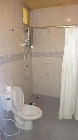 Mae Salong Villa: Shower & Toilet
