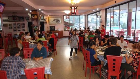 Mae Salong Villa: The restaurant