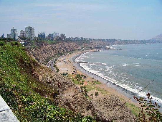 Costa Verde y el mar: Miraflores
