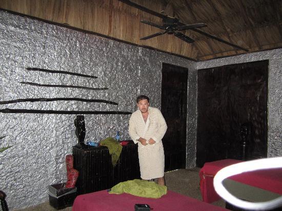 Maruba Resort Jungle Spa: massage room