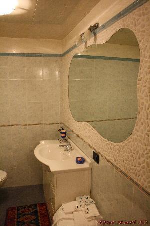 I Due Fari : Bagno appartamento BIANCO LILLA'