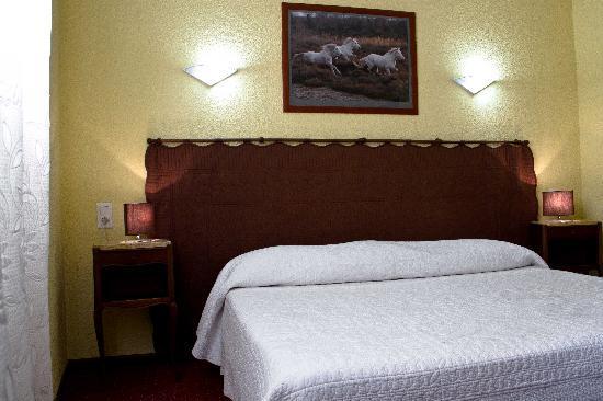 Hotel Le cheval Blanc : Chambre