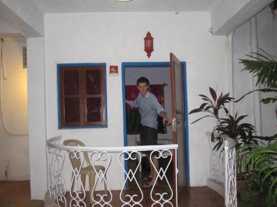 Cap's Corner: Our room