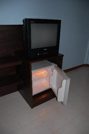 Amantra Resort & Spa: TV & Fridge