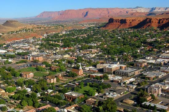 Saint George, UT : St. George City Aerial