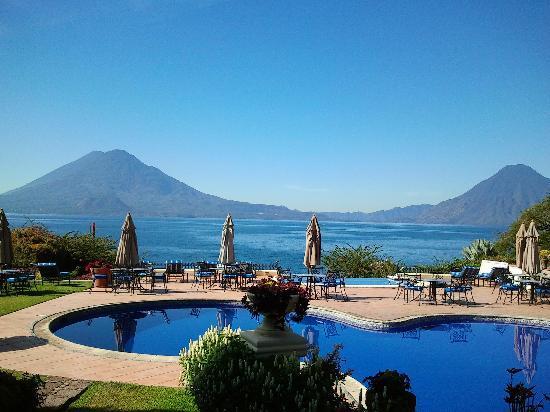 Hotel Atitlan: piscina