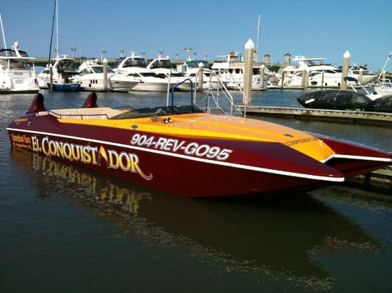 El Conquistador Speedboat Thrill Ride & Tour: Best Boat ride around!