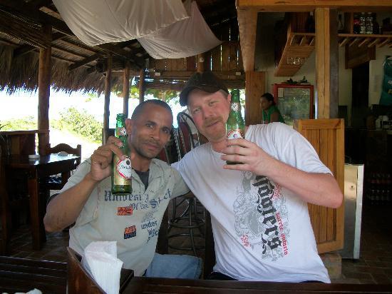 Kiosco Beach : Johny & Chef JC