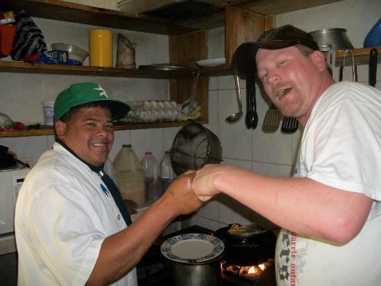 Kiosco Beach: Working Chefs