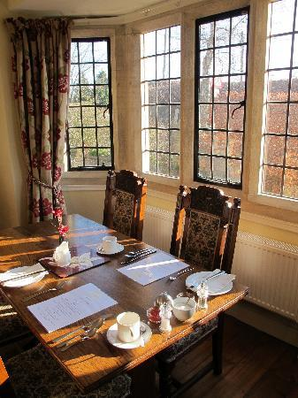 Cranbourne House: The dining room