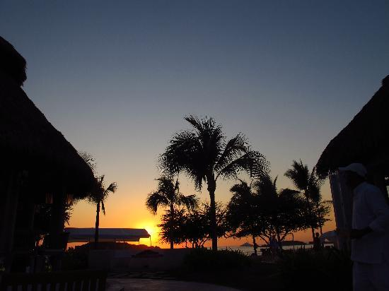 The St. Regis Punta Mita Resort: Sunset from La Marietas