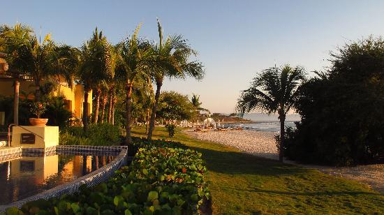 The St. Regis Punta Mita Resort: View down the beach