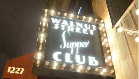 Walnut Street Supper Club Exterior