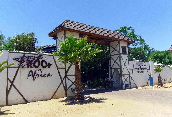 Roof of Africa Hotel: Entrance to Roof of Africa
