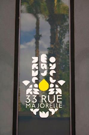33 Rue Majorelle Logo