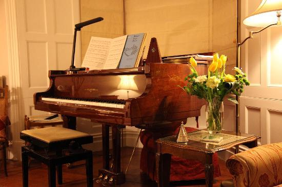 1 Park Road: The Piano is a marvellous feature
