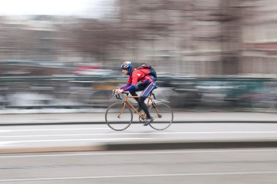 Photo Tours of Amsterdam : Practice of my panning technique