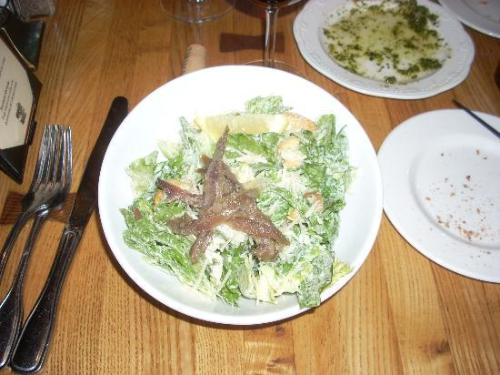 Grand Cru Wine Bar & Grill: Caesar Salad is a favorite of mine and it was quite tasty here.