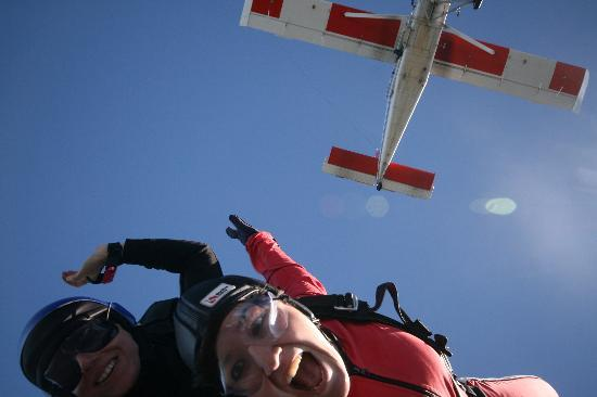 Skydive Franz: The best part!