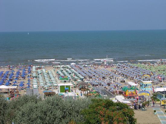 Hotel Helios: veduta spiaggia