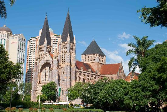 St. John's Anglican Cathedral: A massive cathedral in Brisbane