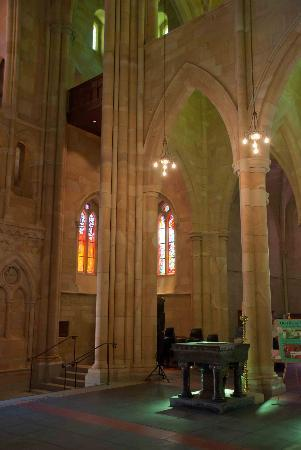 St. John's Anglican Cathedral: Amazing colours in St. John's