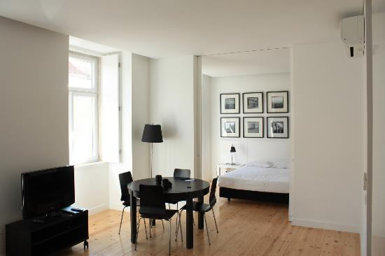 Lisbon Serviced Apartments - Praca do Municipio: La chambre