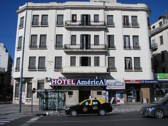 Gran Hotel America: fachada del edificio