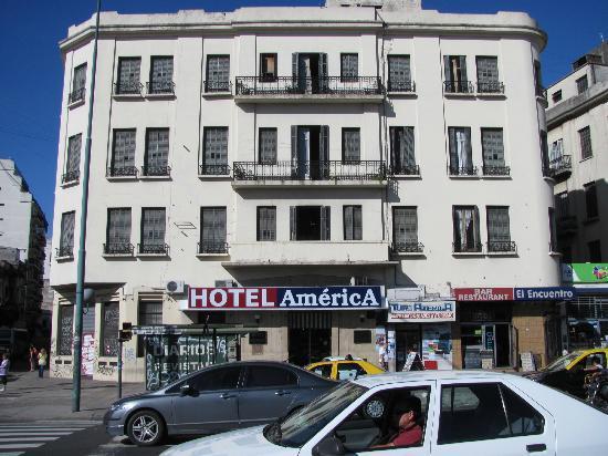 Gran Hotel America: Fachada del Hotel