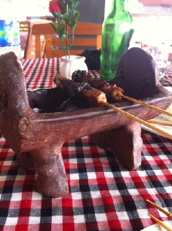 Medewi Beach Cottages: Satay the best in Bali