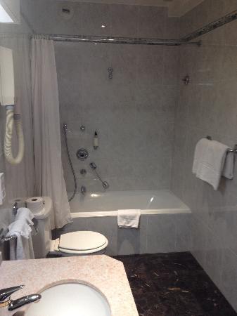 BEST WESTERN Hotel Carlton: Bagno