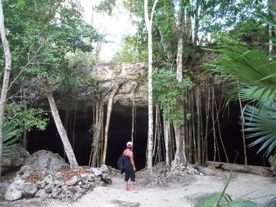 Cenotes Dos Ojos: Ingresso Cenote Dos Ojos