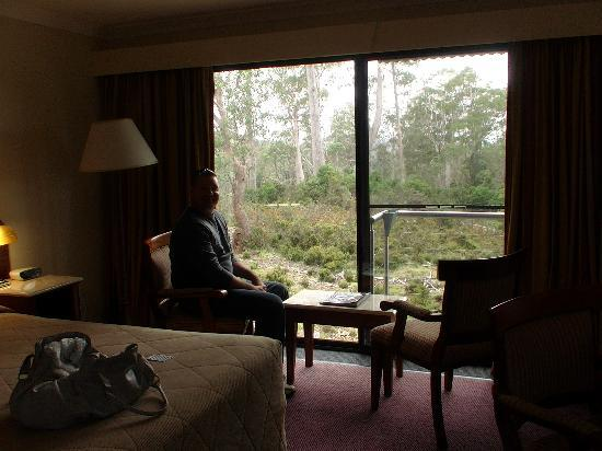 Cradle Mountain Hotel: our room