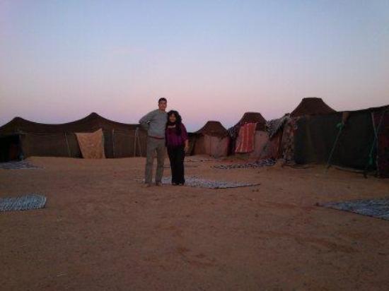 KemKemia Bivouac Erg Chebbi Merzouga: Nuestro Guía y yo